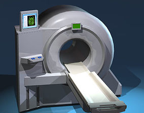 3D model Magnetic resonance scanner
