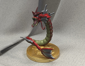 Shiny Gyarados 3D print model