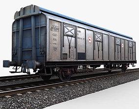 3D model Goods Wagon