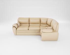 Furniture series - modern sofa - 21 3D asset