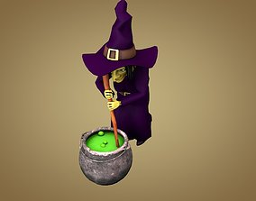 Witch Halloween 3D model