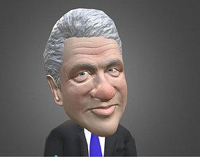 3D model Biltong Jill caricature low poly rigged