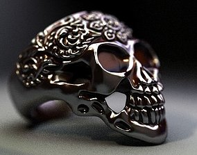 scull 3D print model Scull Sprouted