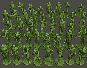3D print model American soldiers ww2 Bundle Pack