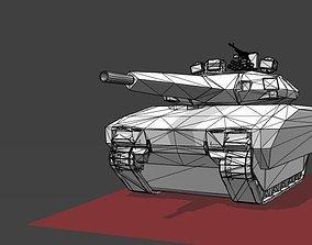 3D model PL-01 Prototype Light Tank