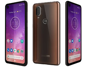 Motorola One Vision Bronze gradient 3D model