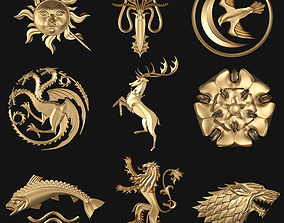 Game of Thrones Houses 3D