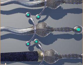 3D model Legendary Cobra Sword