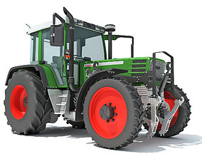 3D vehicle modern Tractor