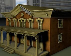 two storey mini-mansion 3D model