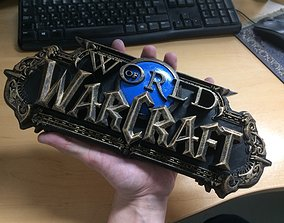 3D printable model World of Warcraft logo