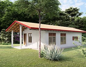vilage small house 3D