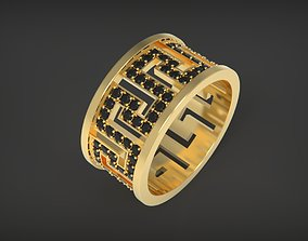 ring meander 3D printable model