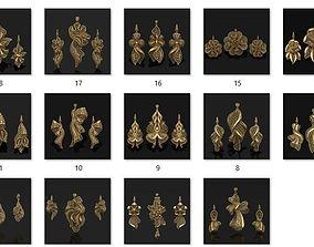 19 PENDANT EARRINGS SET NOKTA MODEL