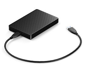Portable HDD 3D