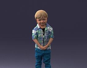 Child boy 0702 3D Print Ready