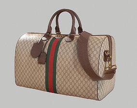 3D model Gucci Ophidia GG medium travel duffle bag