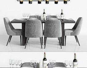 3D pendant Modern Dinning Set 1