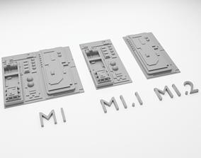 3D printable model Star Wars Death Star Tile Type M