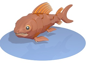 Fish number 3 3D model