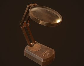 3D asset Magnifying glass - PBR Game Ready