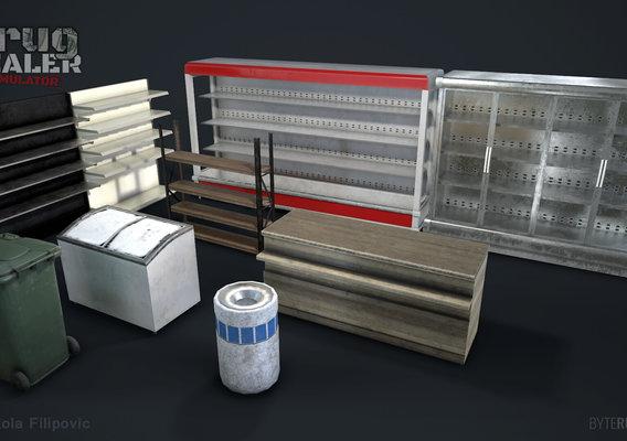 Drug Dealer Simulator Game assets