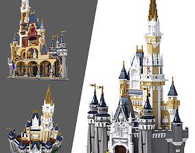 3D model LEGO Disney Castle