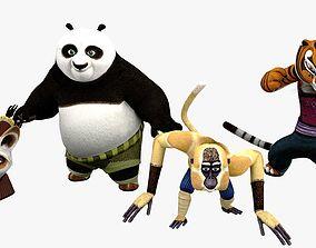 3D model Kungfu Panda