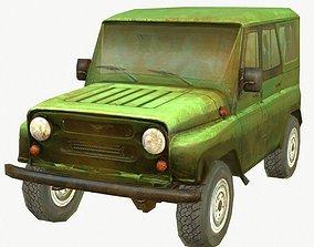 3D asset Russian SUV