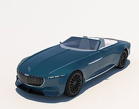 3D model Mercedes-Benz Maybach Vision 6 Cabriolet