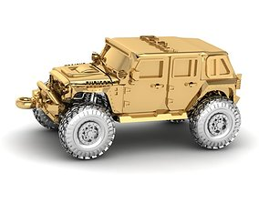 3D printable model Jeep Rubicon