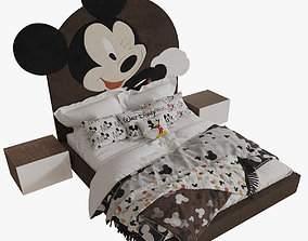 3D model Mickey Mouse Bed