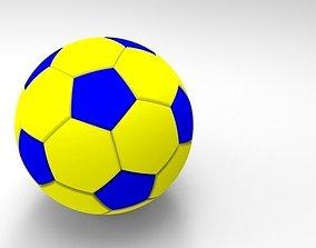 3D asset FootBall