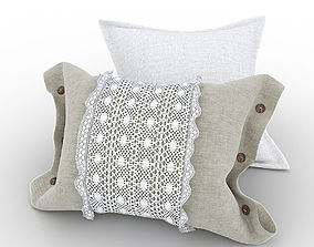 3D model Pillows in country style
