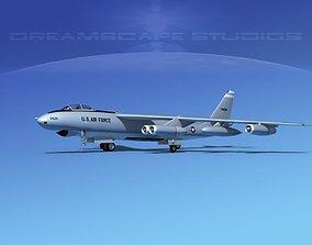 Boeing B-47E Stratojet V06 3D model