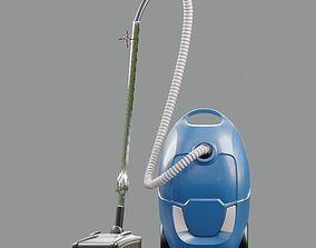 vacuum cleaner 3d model low-poly
