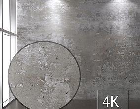 Concrete wall 120 3D model