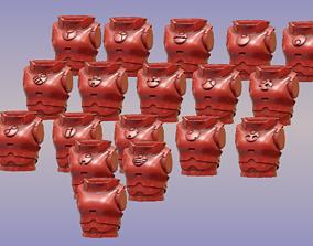 3D print model 2 Pi Female Torsos