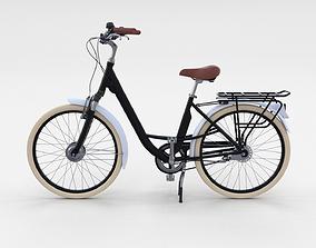 City Bicycle Black 3D