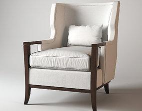 Baker Wing Chair 3D