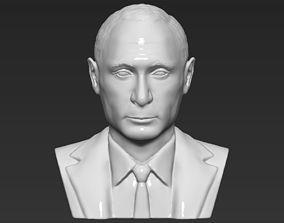 Vladimir Putin bust 3D printing ready stl obj formats