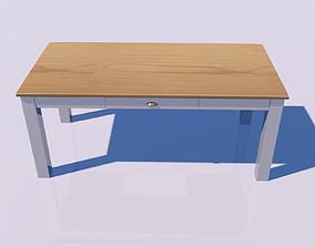 3D kitchen Wood table