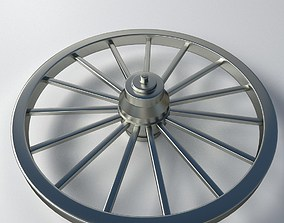 3D Metal Wheel