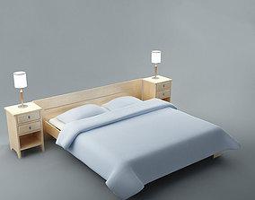 3D model Bed 01