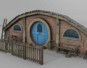 Halfling Home 1 3D asset