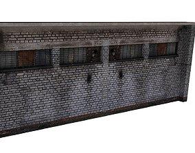 Factory Building 05 01 3D model