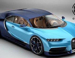 3D Bugatti Chiron