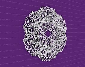 lasercut Mandala 3D