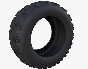 3D model Generic ATV Tire 2