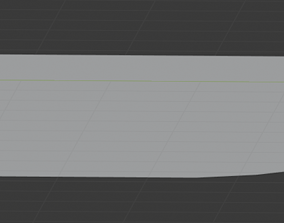 Chefs Knife knives 3D model